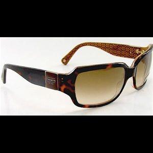 Coach Delphine S443 Tortoise Sunglasses
